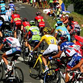 The passes of the Tour de France