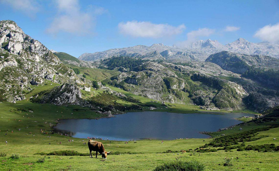 The Pyrenees National Park Lake