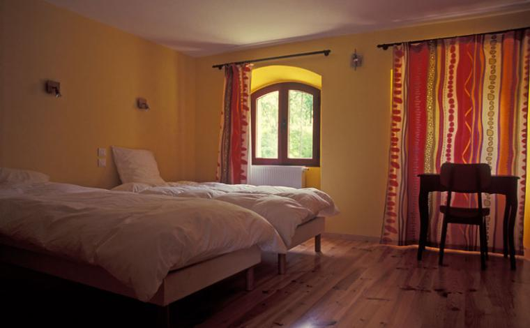 Chambre à 2 lits 90 x 200 cm